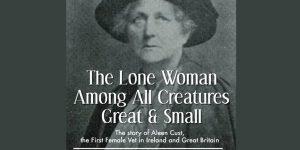 lone woman banner