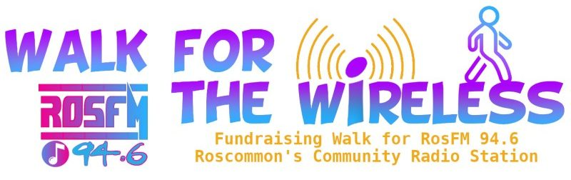 walk for the wireless banner